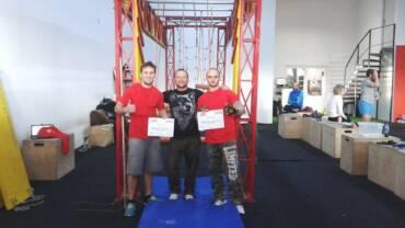 Prima competiție stil ninja warrior – 14 Februarie 2015